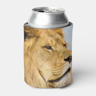 Rafraichisseur De Cannettes Grand lion regardant loin