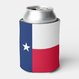Rafraichisseur De Cannettes Graphique dynamique de drapeau d'état du Texas sur