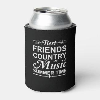Rafraichisseur De Cannettes Heure d'été de musique country de meilleurs amis