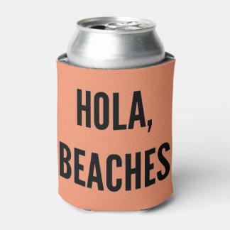 Rafraichisseur De Cannettes Hola de partie de bachelorette de plage, plages !