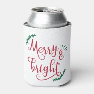 Rafraichisseur De Cannettes joyeuses et lumineuses vacances de Noël