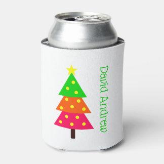 Rafraichisseur De Cannettes Joyeux et lumineux arbre de Noël personnalisé