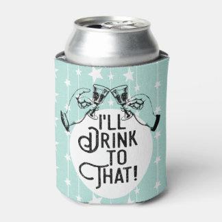 Rafraichisseur De Cannettes La rétro bière | je boirai à celui | drôle