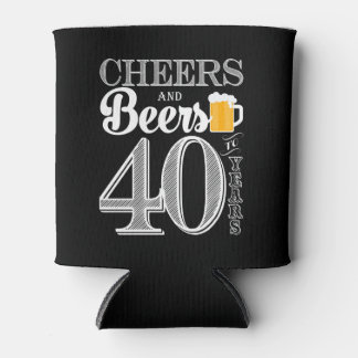 Rafraichisseur De Cannettes Les acclamations et les bières à 40 ans mettent en