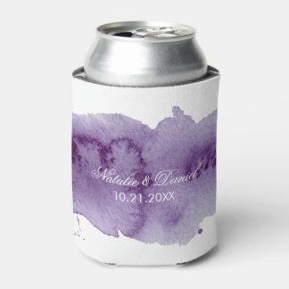 Rafraichisseur De Cannettes Mariage ultra-violet d'aquarelle