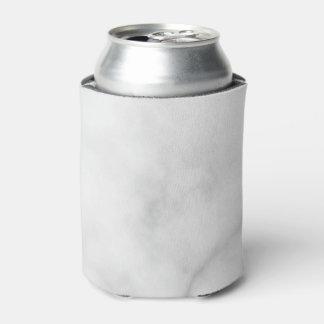 Rafraichisseur De Cannettes Motif de marbre blanc élégant chic