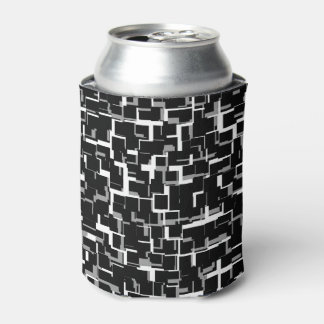 Rafraichisseur De Cannettes Motif gris blanc noir de Digitals Camo