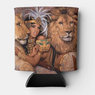 Rafraichisseur De Cannettes Princesse égyptienne Can Cooler de déesse de lion
