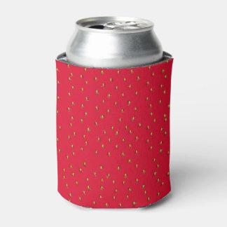 Rafraichisseur De Cannettes Rouge drôle d'arrière - plan de fraise