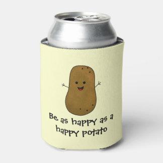 Rafraichisseur De Cannettes Soyez aussi heureux comme pomme de terre heureuse