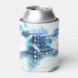 Rafraichisseur De Cannettes Typographie incroyable de dauphins