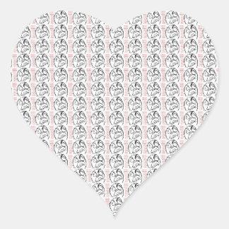 Rage Troll Sticker Cœur