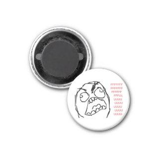 Rage Troll Magnets Pour Réfrigérateur