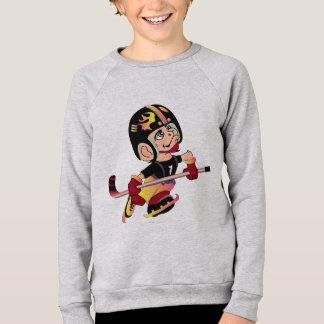 Raglan américain de l'habillement des enfants sweatshirt