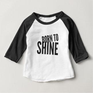 Raglan de bébé 'soutenu à Shine T-shirt Pour Bébé