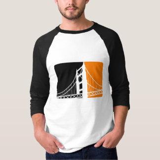 Raglan de douille de San Francisco Bay 3/4 T-shirt