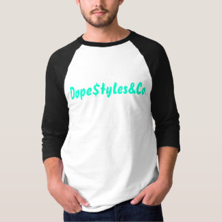 Raglan de soutien des hommes (m) t-shirt