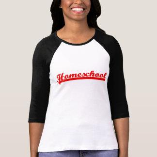 Raglan d'équipe de Homeschool T-shirt