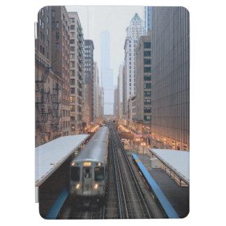 Rail élevé Chicago du centre au-dessus de Wabash Protection iPad Air