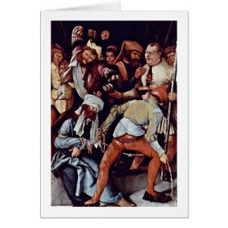 Raillerie du Christ par Mathis Grunewald Gothart Cartes