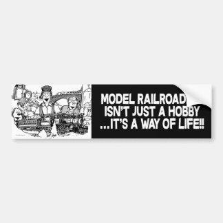 Railroaders modèles : Autocollant de butoir de
