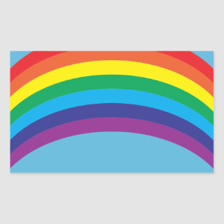 rainbow.ai sticker rectangulaire