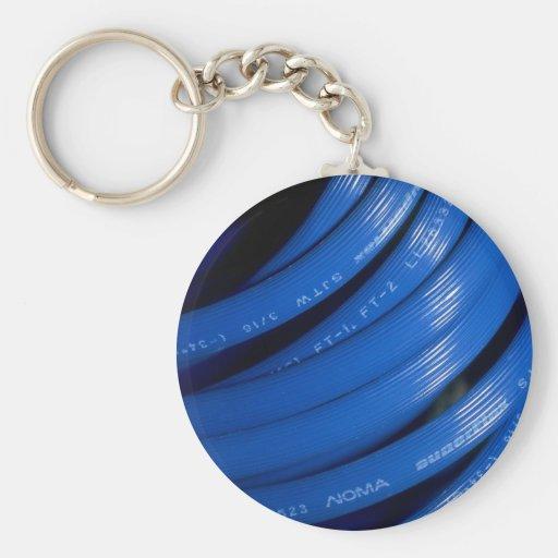 Rallonge bleue porte-clefs