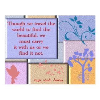 Ralph Waldo Emerson Carte Postale