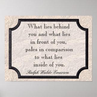 Ralph Waldo Emerson Posters