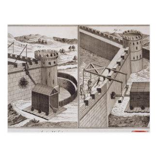 RAM de battage romaines, du 'DES S d'Encyclopedie Cartes Postales