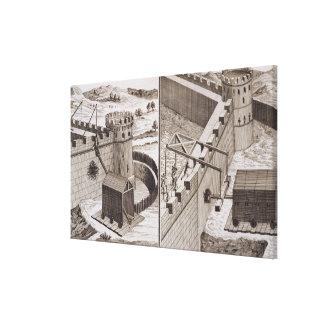 RAM de battage romaines, du 'DES S d'Encyclopedie Impression Sur Toile