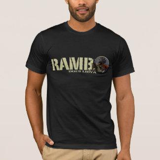 RAMBO FAIT LA LIBYE T-SHIRT
