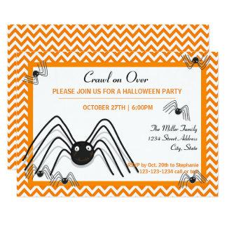 Rampement sur l'invitation sur- de partie de 3x5 carton d'invitation 8,89 cm x 12,70 cm