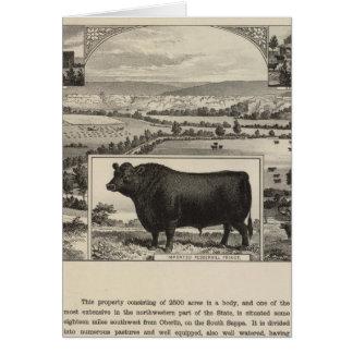 Ranch de Galloway de gorge, Oberlin, le Kansas Cartes