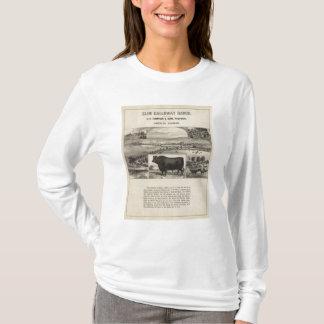 Ranch de Galloway de gorge, Oberlin, le Kansas T-shirt