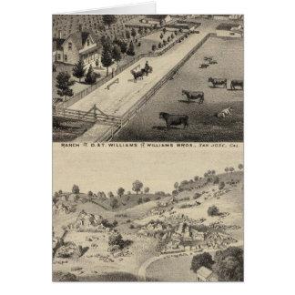 Ranch de Williams, carrière de Goodrich Carte De Vœux
