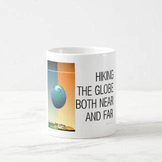 Randonnée SUPÉRIEUR le globe Mug