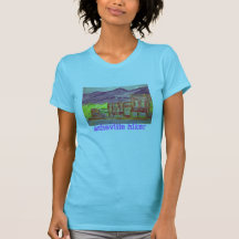 randonneur d'Asheville T-shirts