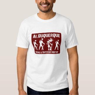 Randonneur de Kokopelli pour ABQ augmentant Meetup T-shirts