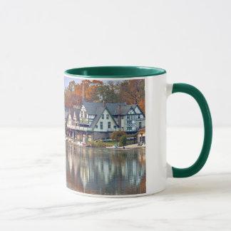 Rangée de Boathouse Mug