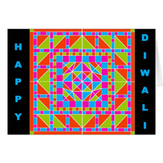 Rangoli 1 carte de Diwali