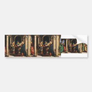 Raphael la présentation dans le temple adhésifs pour voiture
