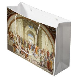 Raphael - L'école d'Athènes 1511 Grand Sac Cadeau