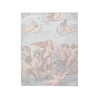 Raphael - Triumph de Galatea 1512 Bloc-note