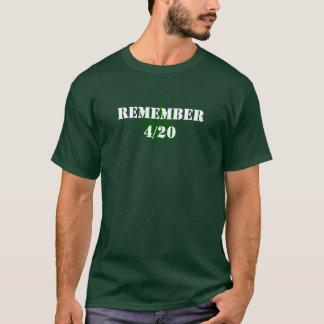 Rappelez-vous 4/20 t-shirt