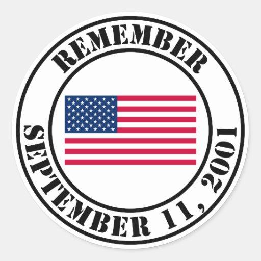 Rappelez-vous 9/11 autocollants