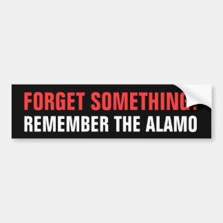 Rappelez-vous Alamo Autocollant Pour Voiture