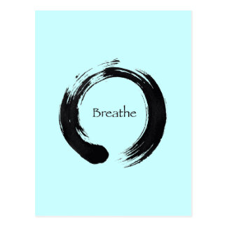 Rappelez-vous de respirer ! carte postale