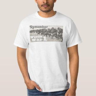 Rappelez-vous la guerre mondiale 1 t-shirt