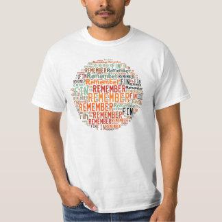 Rappelez-vous l'aileron ! t-shirt